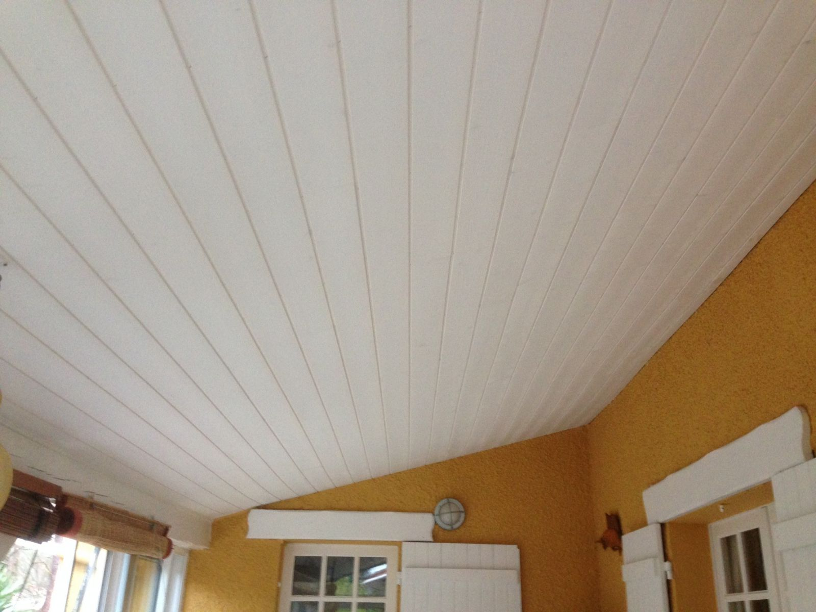 100 Fantastique Suggestions Lambris Bois Blanc Plafond