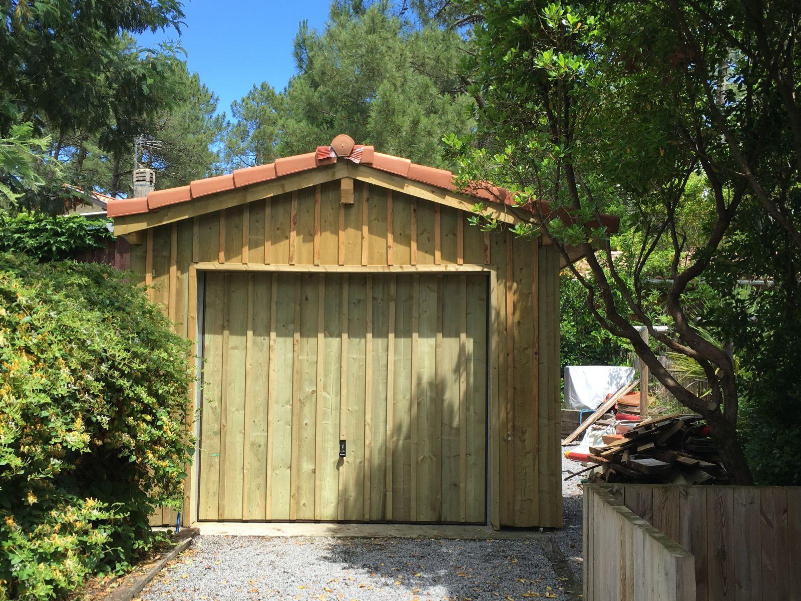 Garage en bois lege cap ferret gironde - Du bois dans ma maison ...