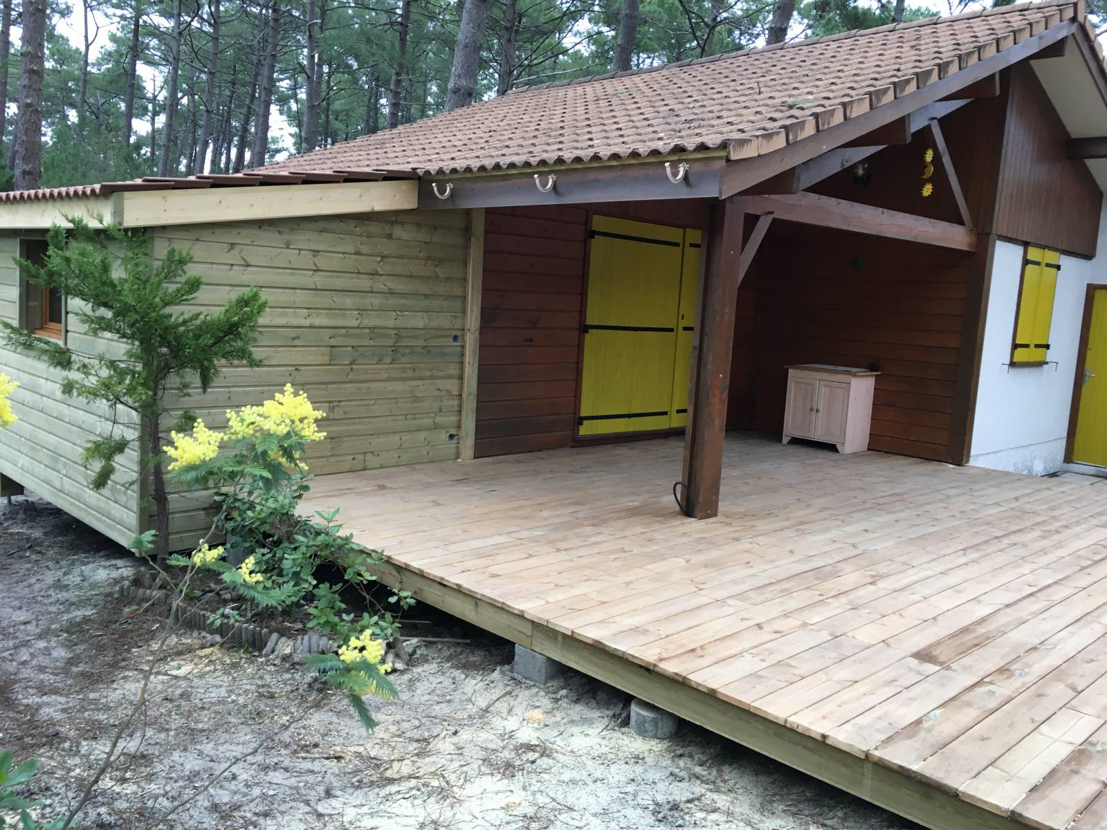 Realiser une terrasse gallery of jardin meditrannen - Realiser une terrasse en bois ...