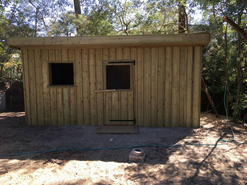 Construction garage en bois - CAP FERRET